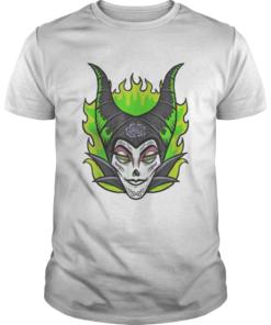 Sleeping Beauty Maleficent Sugar Skull Halloween  Unisex