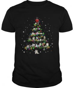 Stabyhoun Christmas Tree TShirt Unisex