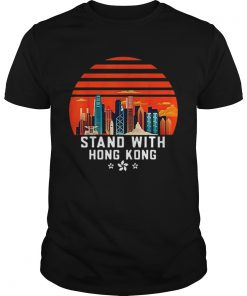Stand With Hong Kong Sunset  Unisex