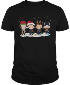 Supernatural santa chibi Christmas T Unisex