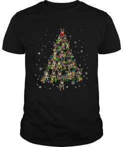 Swedish Vallhund Christmas Tree TShirt Unisex