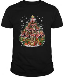 Sydney Roosters Players Christmas Tree Shirt Unisex