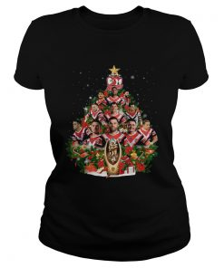 Sydney Roosters players Christmas tree  Classic Ladies