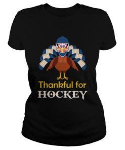 Thankful for Hockey Turkey  Classic Ladies