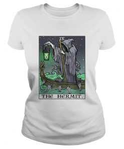 The Hermit Tarot Card Gothic Halloween Grim Reaper Goth Gift  Classic Ladies