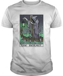 The Hermit Tarot Card Gothic Halloween Grim Reaper Goth Gift  Unisex