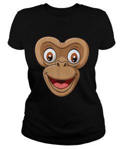 Top Halloween Monkey Face DIY Easy Costume Kids Boys Men Youth  Classic Ladies