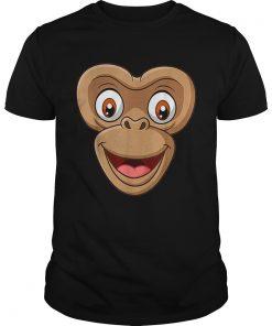 Top Halloween Monkey Face DIY Easy Costume Kids Boys Men Youth  Unisex