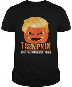 Trumpkin Pumpkin Politics Halloween Ironic Costume Fun Gift  Unisex