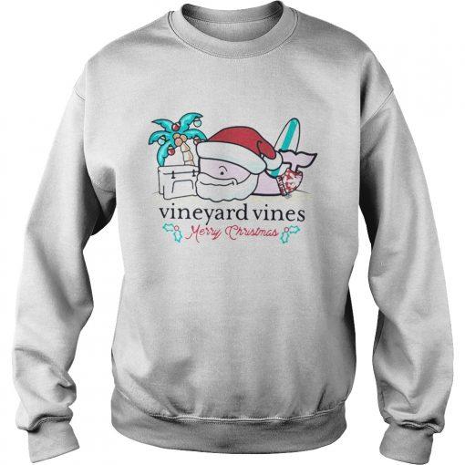 Vineyard Vines Christmas 2019.Vineyard Vines Surfside Santa Christmas T Shirt
