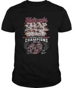 Washington Nationals league champions 2019 signature  Unisex