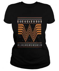 Whataburger Christmas Shirt Classic Ladies