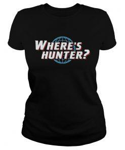 Wheres hunter Trump 2020 t Classic Ladies