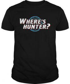 Wheres hunter Trump 2020 t Unisex