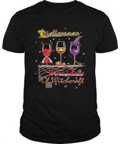 Wine Glass Of Witchcraft Halloween Funny  Unisex