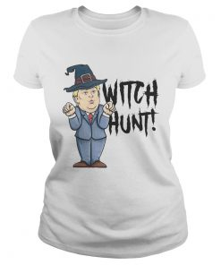 Witch Hunt Trump Witch Halloween Shirt Classic Ladies