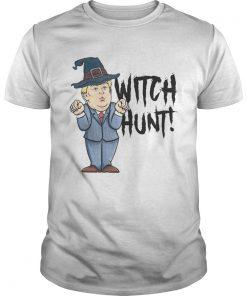 Witch Hunt Trump Witch Halloween Shirt Unisex