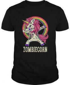 Zombiecorn Zombie Unicorn Dab Dance Halloween Gift  Unisex