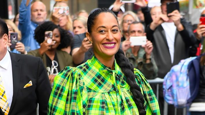 For Halloween, Tracee Ellis Ross Pays Tribute to This Year's Biggest Horror Movie