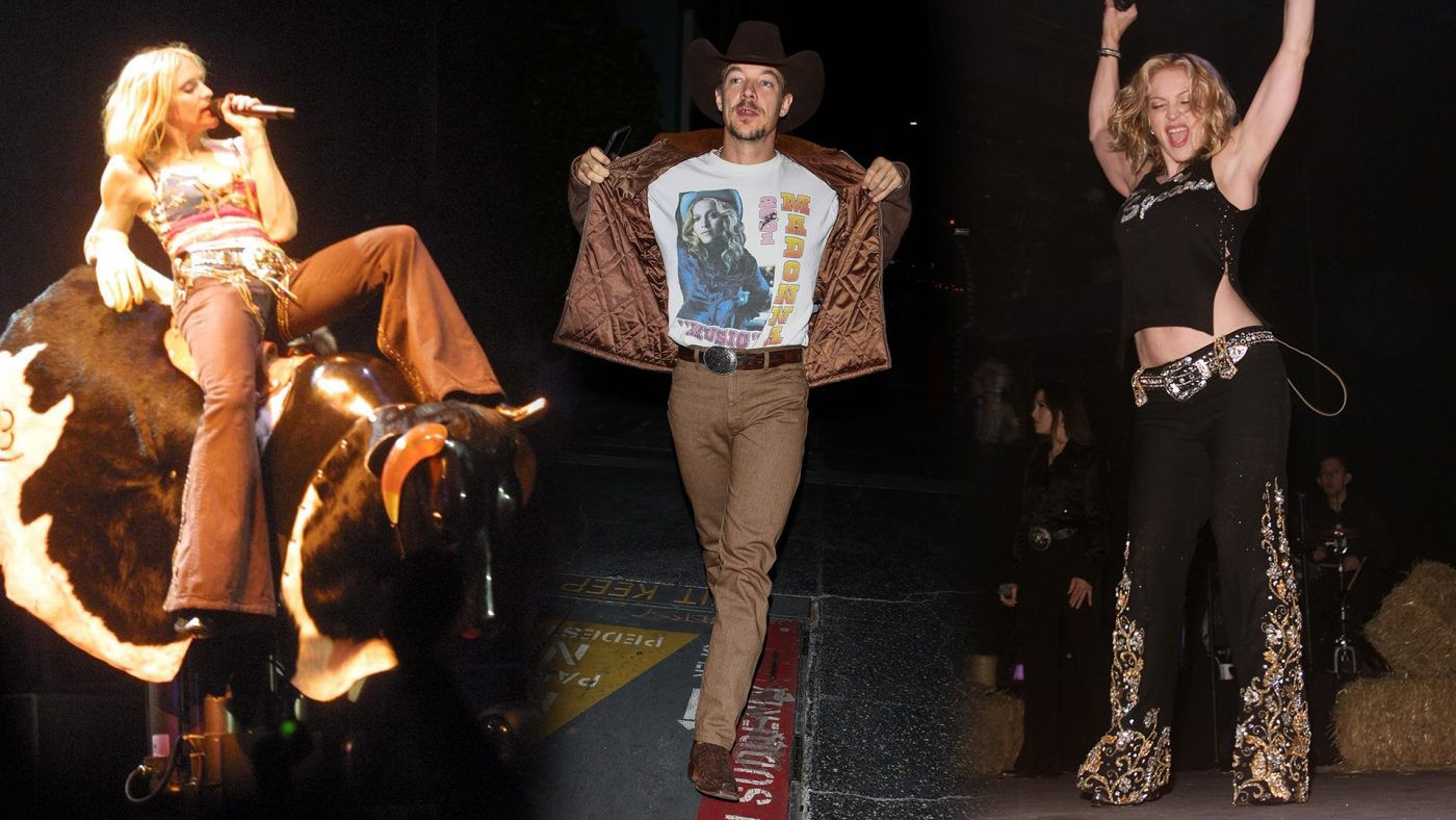 Diplo's Madonna Concert Look Proves He's the Ultimate Fanboy