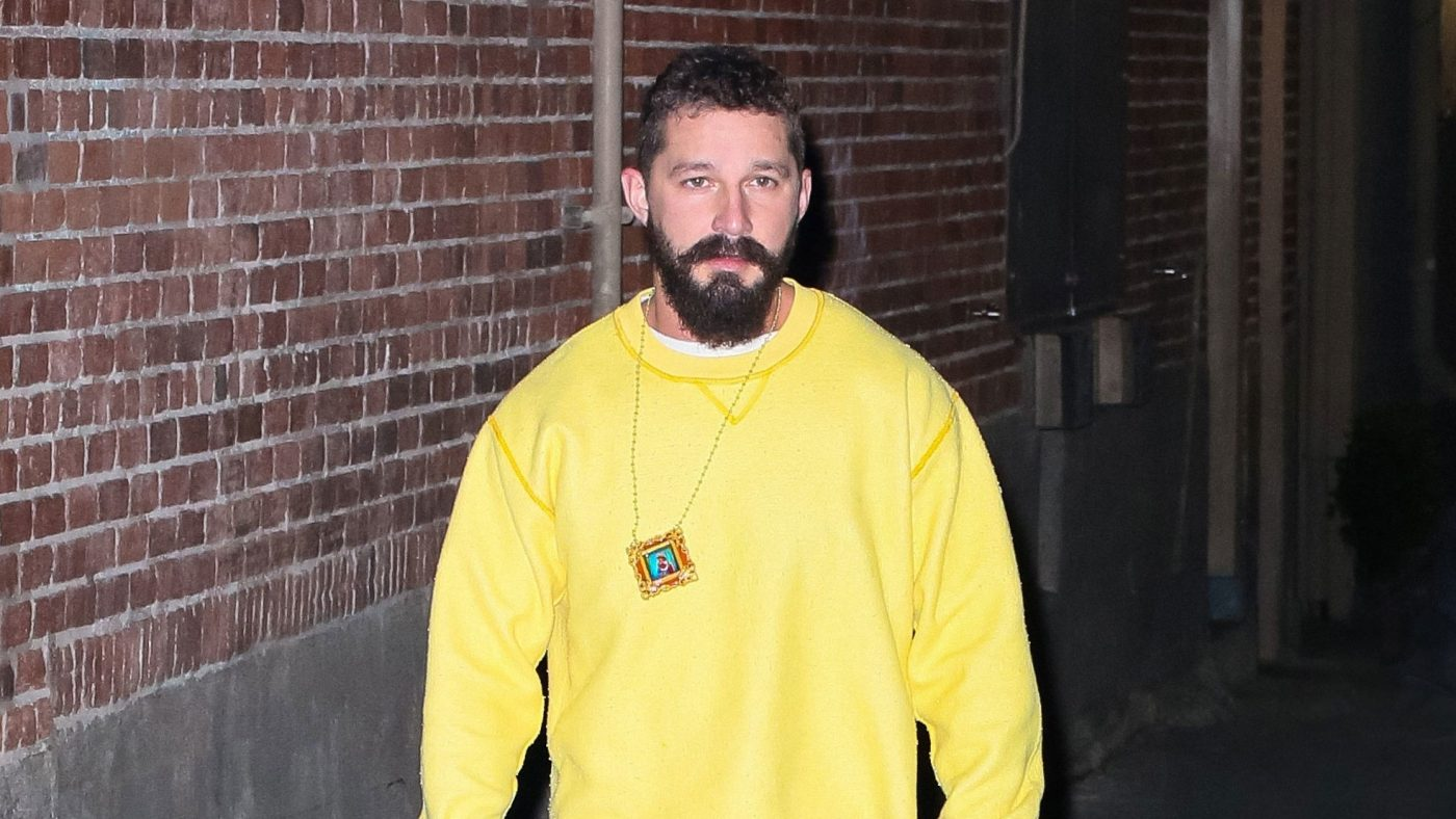 Leave It to Shia LaBeouf to Pull Off Too-Short Jeans