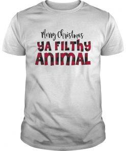 1572867600Merry Christmas Ya Filthy Animal  Unisex