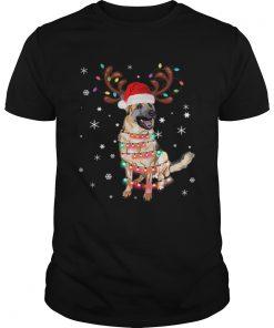 1572868569Christmas Lights Australian Shepherd Funny Dog Lovers Gift  Unisex