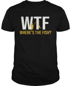 1572871923WTF Where's The Fish Fishing  Unisex