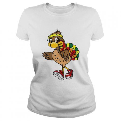 5k Turkey Trot Squad Pilgrim Thanksgiving Running  Classic Ladies