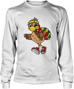 5k Turkey Trot Squad Pilgrim Thanksgiving Running  LongSleeve