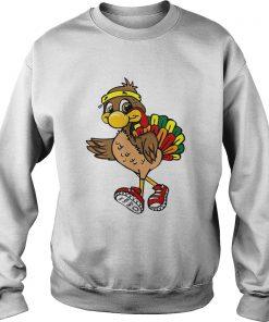 5k Turkey Trot Squad Pilgrim Thanksgiving Running  Sweatshirt