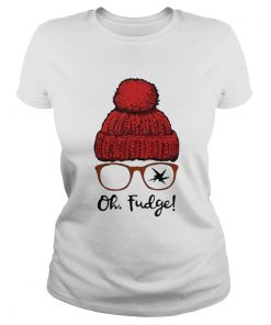 A Christmas Story Ralphie Oh Fudge  Classic Ladies
