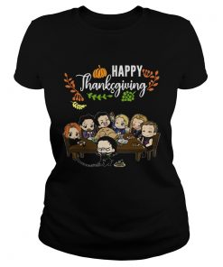 Avengers chibi characters happy thanksgiving  Classic Ladies