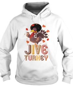 Awesome Funny Jive Turkey Thanksgiving Holiday Festive Turkey  Hoodie