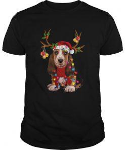 Basset Hound Gorgeous Reindeer  Unisex