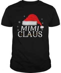 Beautiful Mimi Claus Funny Christmas Pajamas Matching Grandmother Gift  Unisex