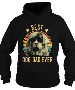 Best Dog Dad Ever Newfoundland Dog Vintage  Hoodie