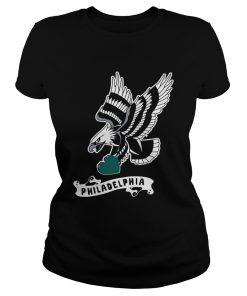 Bird Gang Bell Philadelphia Eagles  Classic Ladies