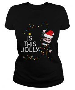 Carl Fredricksen Is this Jolly enough Christmas  Classic Ladies