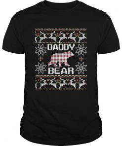 Daddy Bear Matching Family Season Ugly Christmas  Unisex