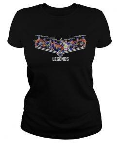 Edmonton Oilers Ryan Smith Leon Draisaitl Glenn Anderson Grant Fuhr Legends Signatures  Classic Ladies