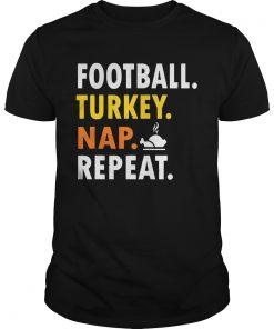 Football Turkey Nap Repeat Vintage  Unisex