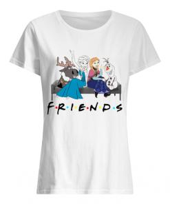 Friends TV show Frozen character  Classic Women's T-shirt