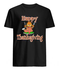 Garfield Happy Thanksgiving  Classic Men's T-shirt
