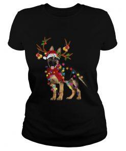 German Shepherd Gorgeous Reindeer Christmas  Classic Ladies