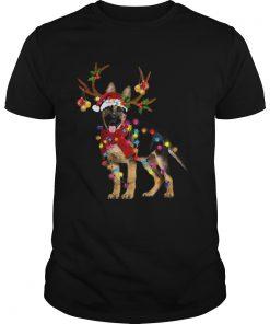 German Shepherd Gorgeous Reindeer Christmas  Unisex