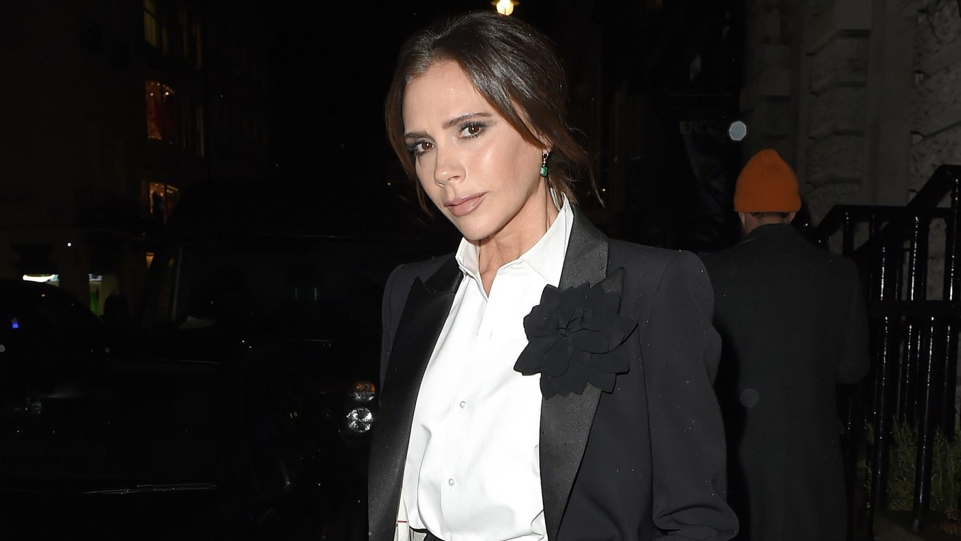 Victoria Beckham Does Holiday Party Style Like a Fashion Mogul