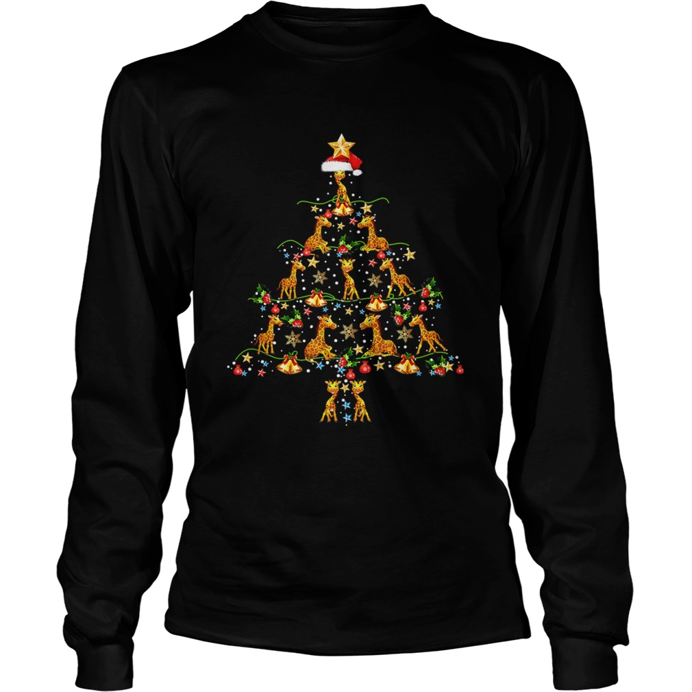 Giraffe Ornament Decoration Christmas Tree LongSleeve