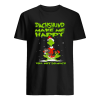 Grinch Dachshund Make Me Happy You Not So Much Christmas  Classic Men's T-shirt