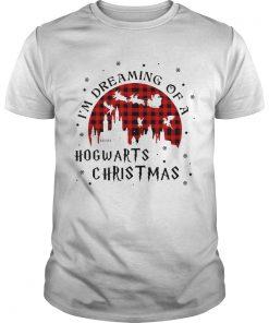 Im Dreaming Of A Hogwarts Christmas Reindeer Sleigh Christmas  Unisex